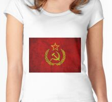 SOVIET UNION Women's Fitted Scoop T-Shirt