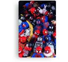 The LEGO Spider-Verse Canvas Print
