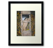 nude male  Framed Print