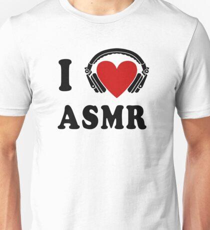 I Love ASMR Unisex T-Shirt