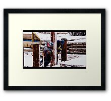 Northern Exposure Framed Print