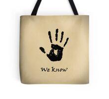 Skyrim Dark Brotherhood Tote Bag