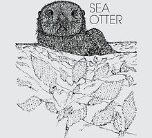 Sea Otter Sketch by Hinterlund