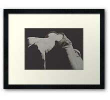 Back to You - Original Pencil Drawing Framed Print