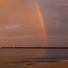 Stockton Beach - Newcastle - New South Wales - At the end of the rainbow. by Paul Davis