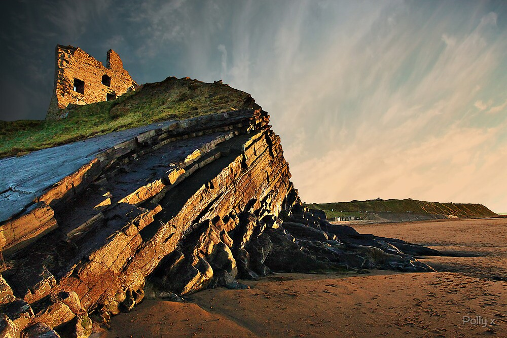 Evening Glow - Ballybunion by Polly x