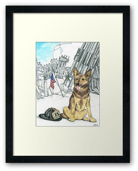 Heroes of 9-11 by ArtbyMinda