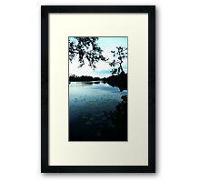 Sweden at Dusk  Framed Print