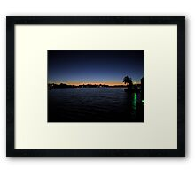 Floridian Sunset Framed Print