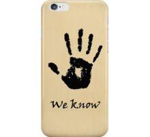 Skyrim Dark Brotherhood iPhone Case/Skin