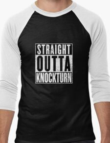 Straight Outta Knockturn Men's Baseball ¾ T-Shirt