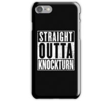 Straight Outta Knockturn iPhone Case/Skin