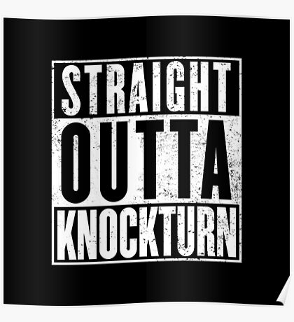 Straight Outta Knockturn Poster