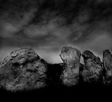 West Kennet Long Barrow #3 by Samantha Higgs