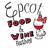 Epcot Food and Wine Festival Minnie Mouse by yaney85