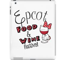 Epcot Food and Wine Festival Minnie Mouse iPad Case/Skin