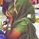 Indian Woman! by Gursimran Sibia