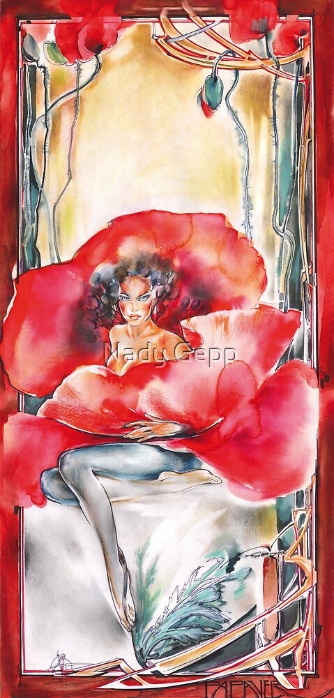 Papaver by Nady Gepp
