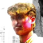 Holi religious festival and its coloured water bombs by indiafrank