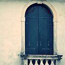 Villa Window by Karen E Camilleri