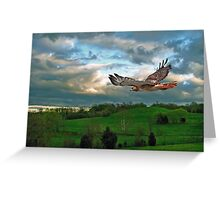 Free Flying Greeting Card