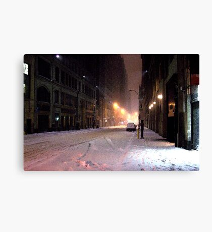 Vanishing Point Midtown Canvas Print