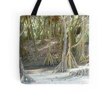Pandanus Trees - Port Resolution Tote Bag