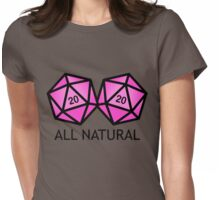 All Natural  Womens Fitted T-Shirt