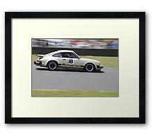 Porsche Carrera Framed Print
