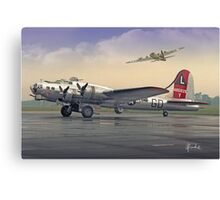 Yankee Lady Canvas Print