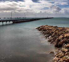 Beachport Pier by Jim Worrall