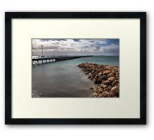 Beachport Pier Framed Print