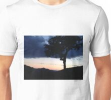 Night Descends Over the White Mountains by Thomas Bahr II Unisex T-Shirt