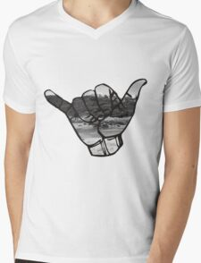 Shaka Mens V-Neck T-Shirt