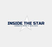 "Branded ""Inside The Star"" Off-White Throw Pillow by InsideTheStar"
