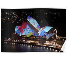 Sydney Opera House - Vivid Festival Poster
