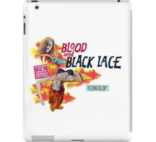 blood and black lace iPad Case/Skin
