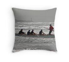 St Kilda at Ocean Grove Throw Pillow