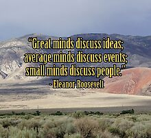 Great Minds by don thomas