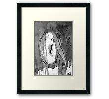 transient figure Framed Print