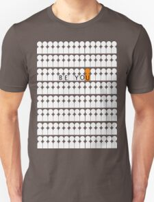 Be You - White & Orange T-Shirt