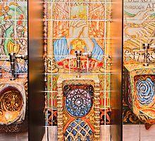 """""""Art On The Go"""" - bathroom art by John Hartung"""