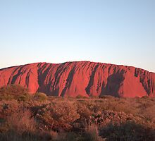 Uluru Sunset by Anthony Judd