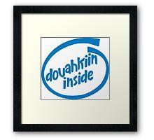 Dovahkiin Inside Framed Print