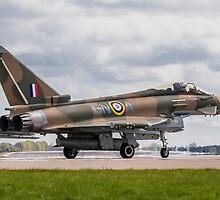 RAF Typhoon ZK349 by Lee Wilson