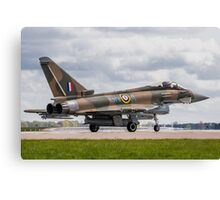RAF Typhoon ZK349 Canvas Print