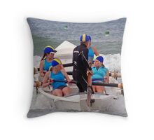 Torquay Temptations  at Ocean Grove Throw Pillow
