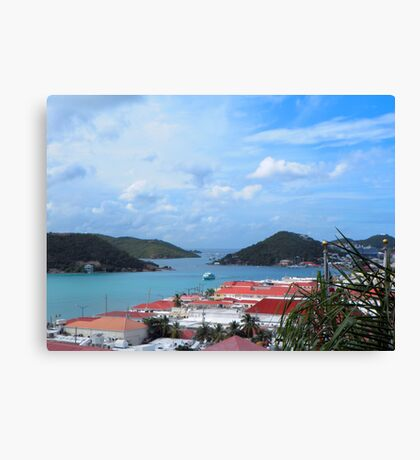 US Virgin Island View Canvas Print