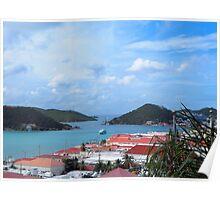 US Virgin Island View Poster