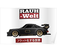 RWB Stella - The World is Flat Poster